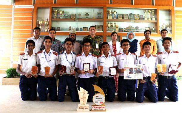 The Best School in Dhaka Mohanagar in National Education Week-2017.