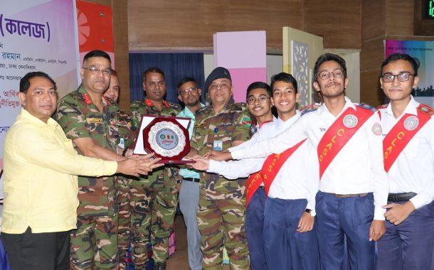 Champion in Bangladesh School Debate Competition-2020